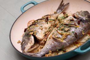 Basque Baked Sea Bream Recipe