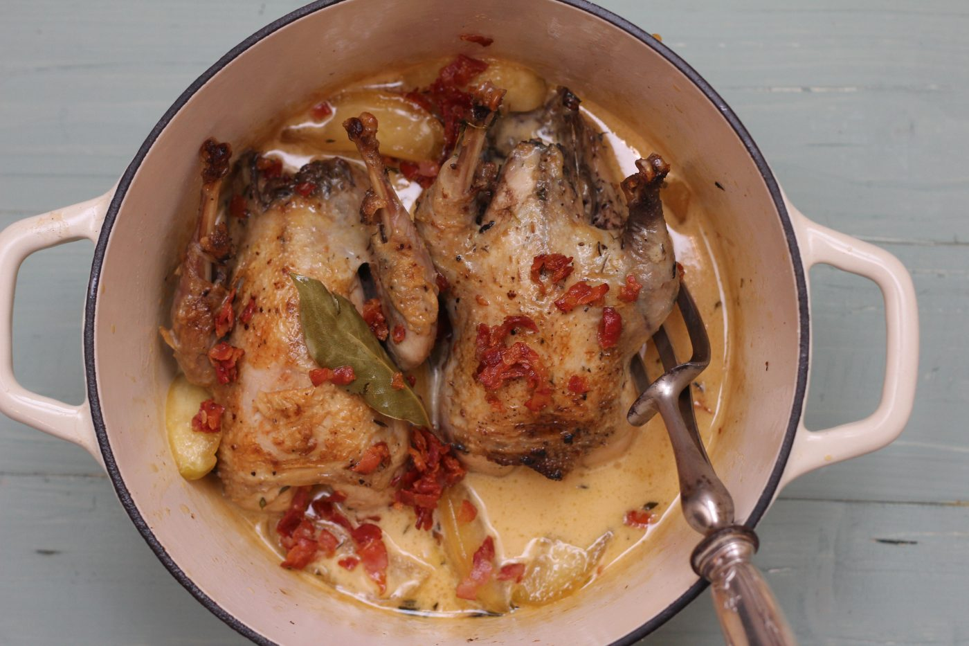 Pot Roasted Partridge Recipe