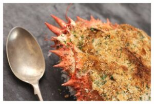 Baked Spider Crab Recipe