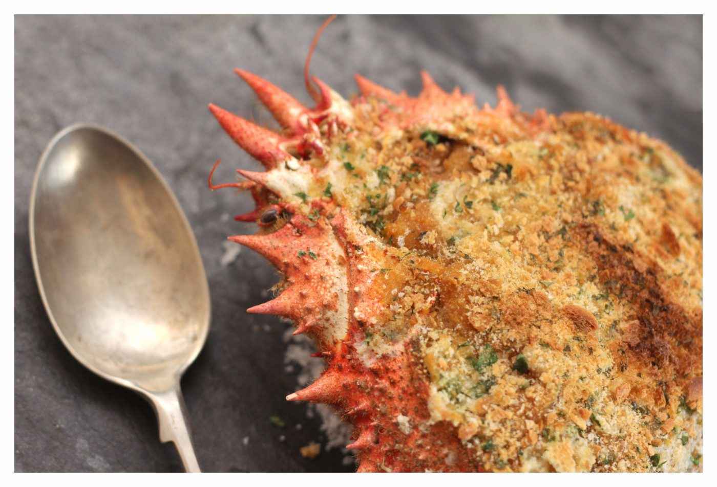 Baked Spider Crab Recipe