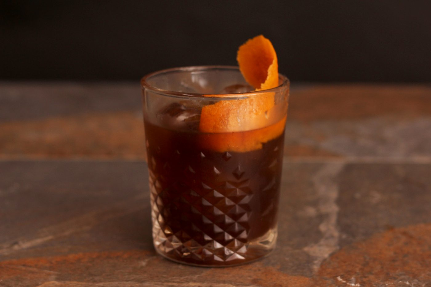 Chocolate and Orange Old Fashioned Cocktail Recipe