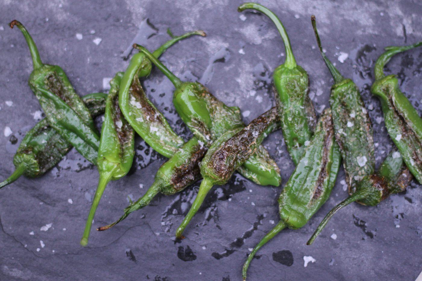 Fried Gernika Peppers