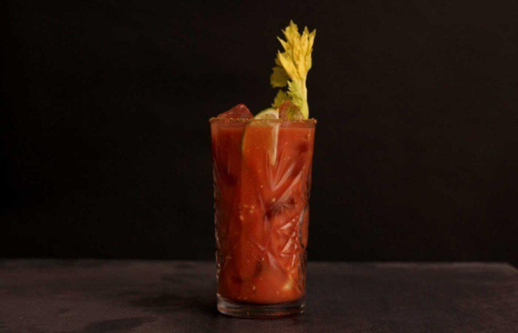 Gin Bloody Mary Recipe