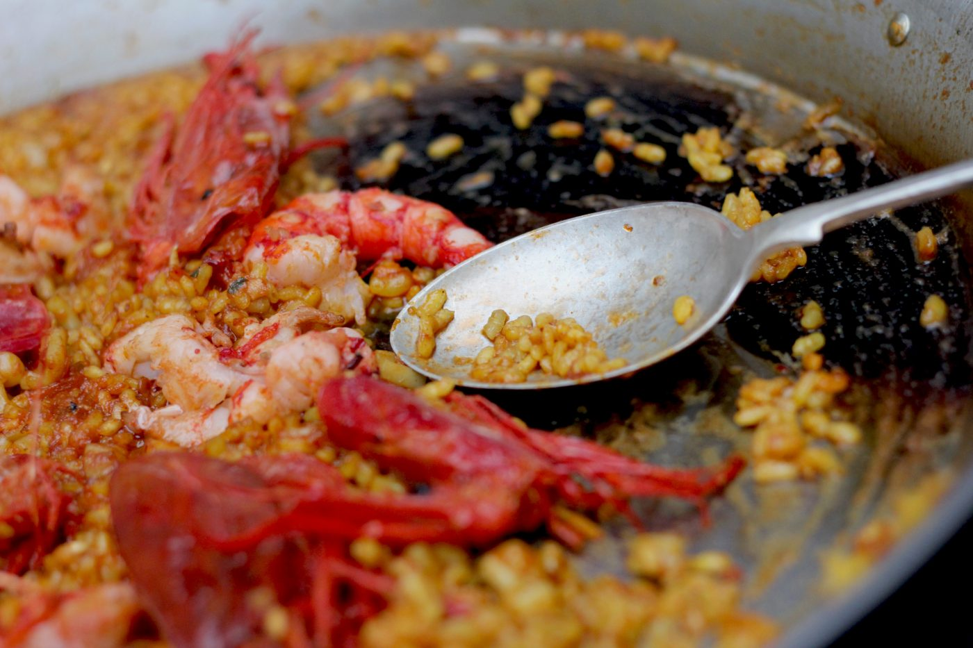 Paella Rice with Carabinero Prawns