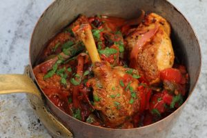 Chicken Basquaise