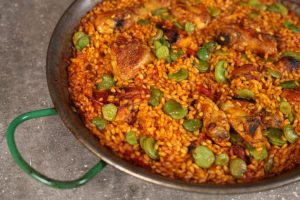 Chicken Paella with Sherry Vinegar