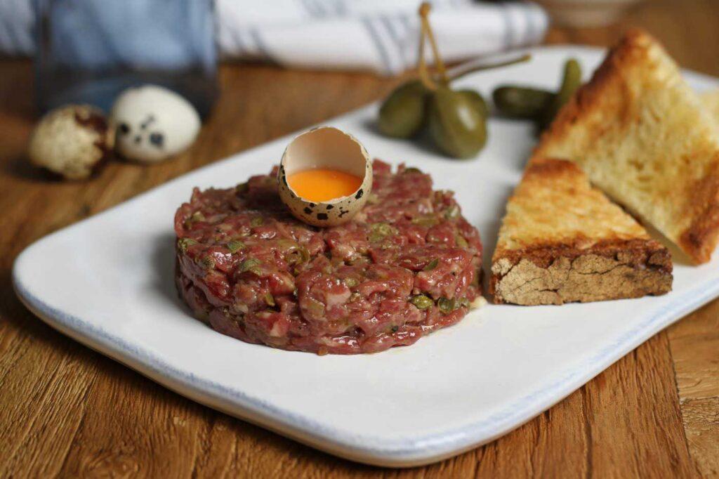 Galician Steak Tartare