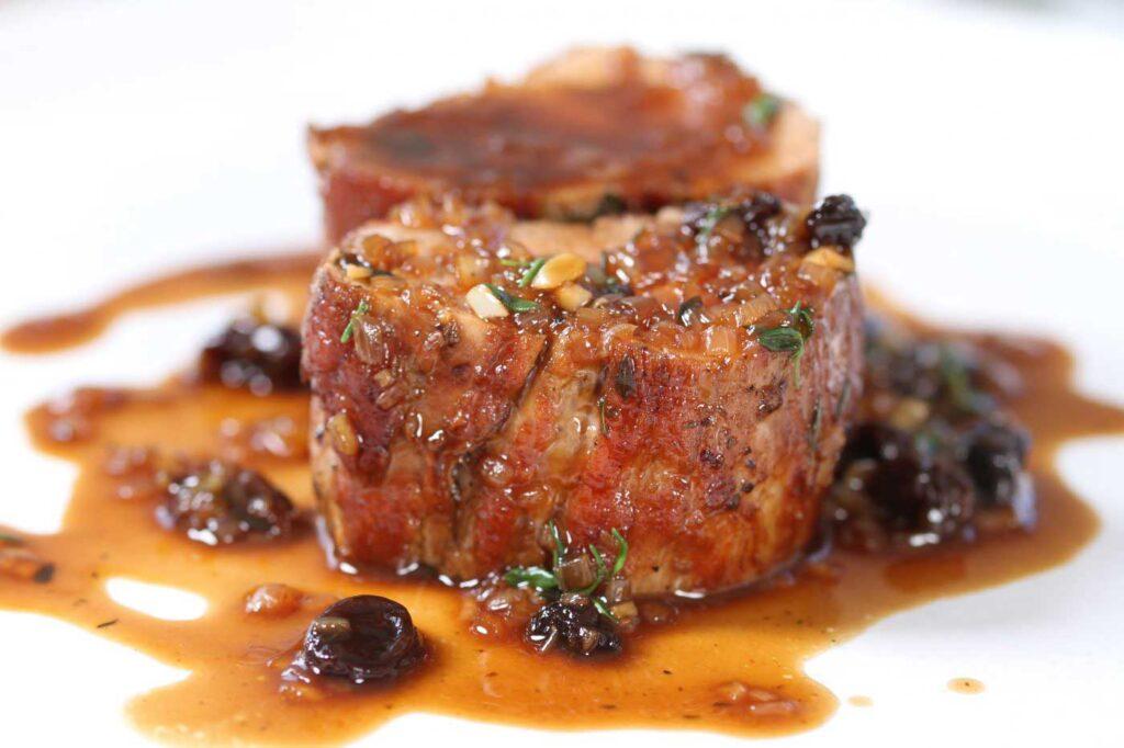 Iberico Pork Fillet with Pedro Ximenez Sauce