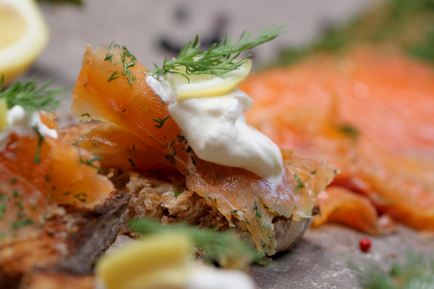 Xoriguer Gin Cured Salmon
