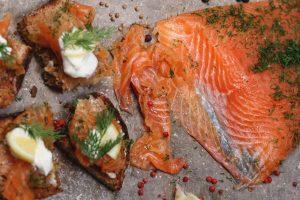 Xoriguer Gin Cured Salmon