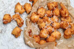 Buñuelos – Iberico Ham and Manchego Cheese
