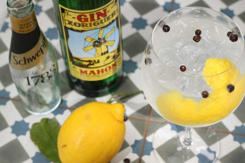 Xoriguer Gin and Tonic