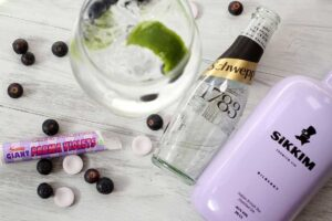 Sikkim Bilberry Gin and Tonic
