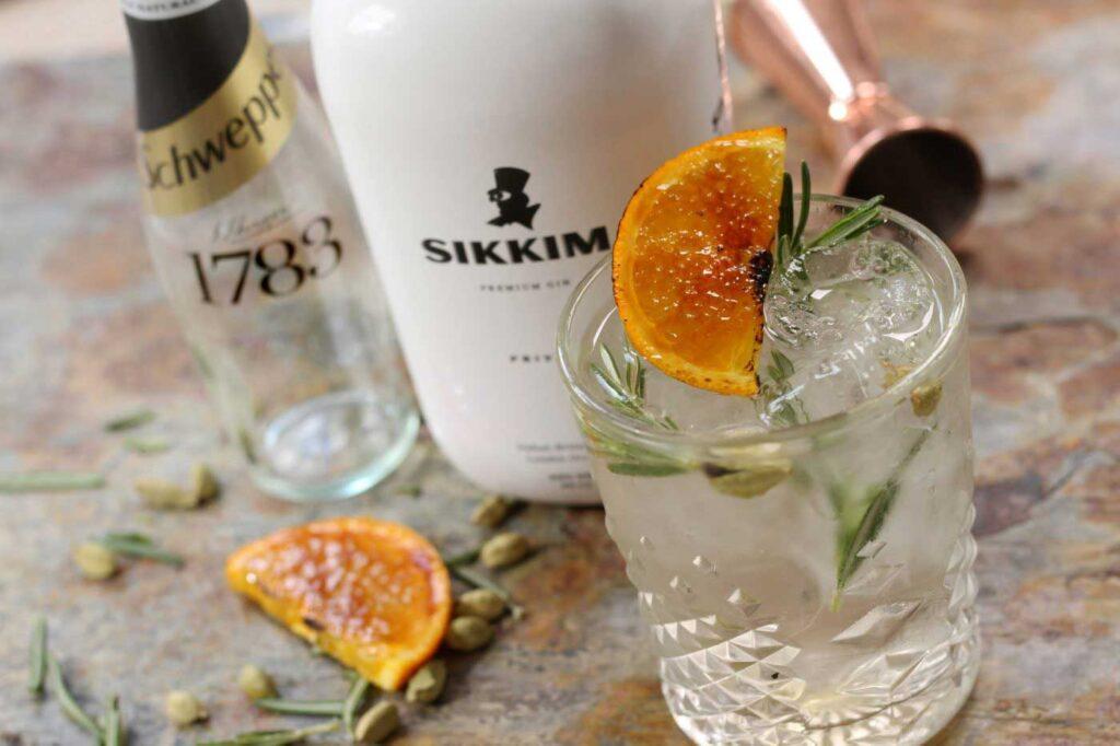 Sikkim Privee Gin and Tonic