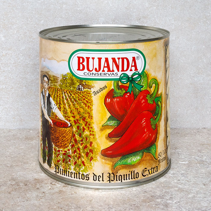 Bujanda Piquillo Peppers Large Can