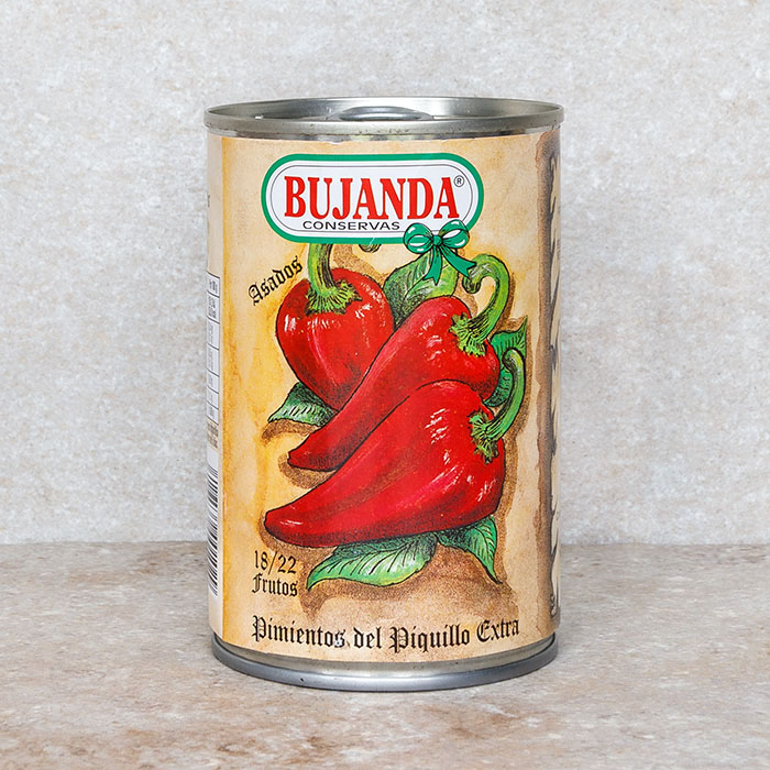 Bujanda Piquillo Peppers Small Tin