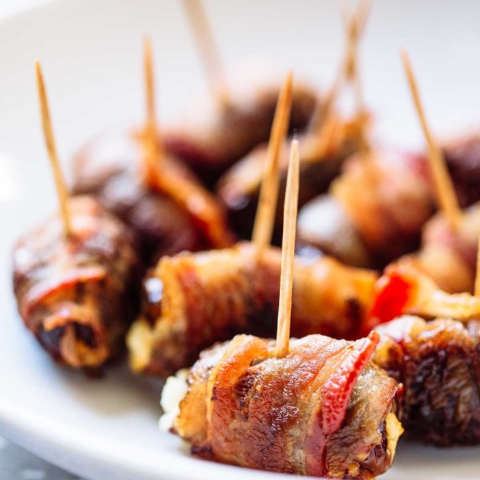 Casa Noguera Dates Wrapped in Pancetta