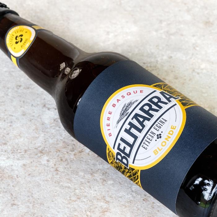Cerveza Belharra Blonde