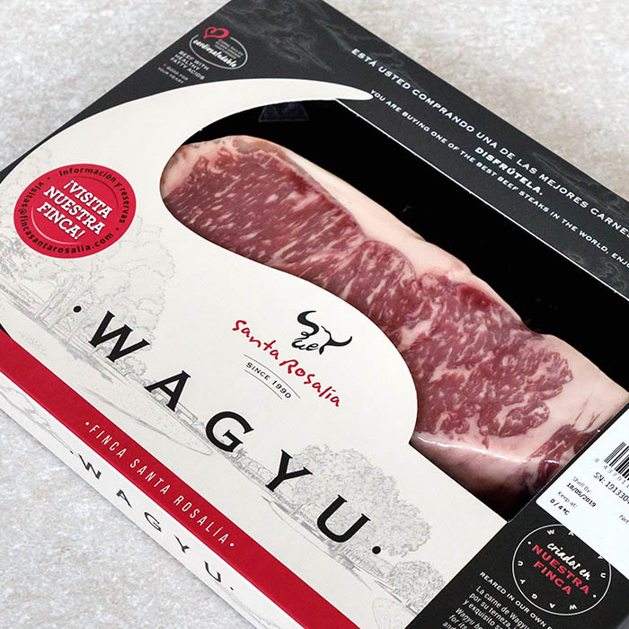 Santa Rosalia Wagyu Sirloin Steak 325g