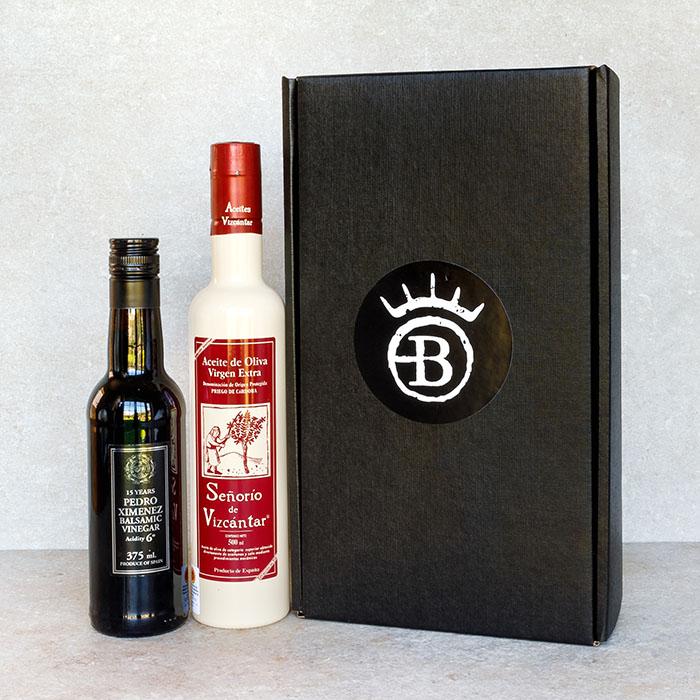 Spanish Oil and Vinegar Gift Box
