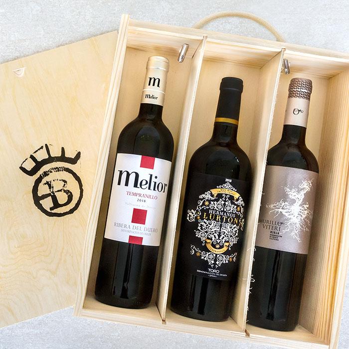 Spanish Red Wine Box