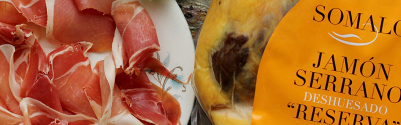 Somalo Boneless Serrano Ham ETG 5.25Kg