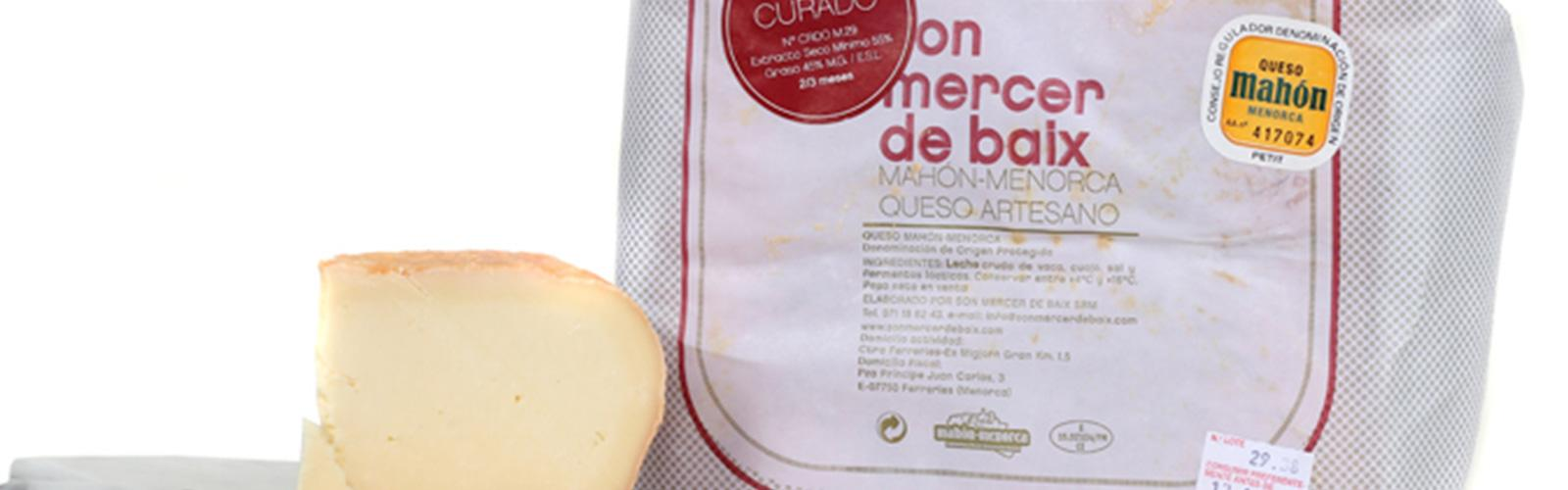 Son Mercer de Baix Mahon Semi Cured Cheese