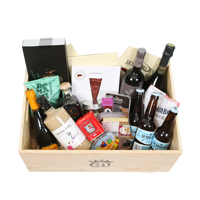 Basco Spanish Deluxe Food Hamper