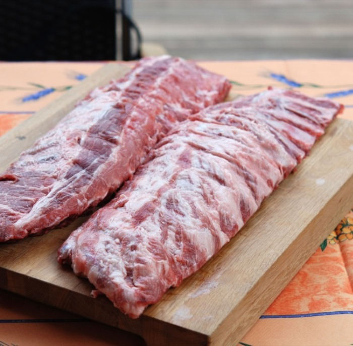 Iberico Baby Back Pork Ribs 1Kg