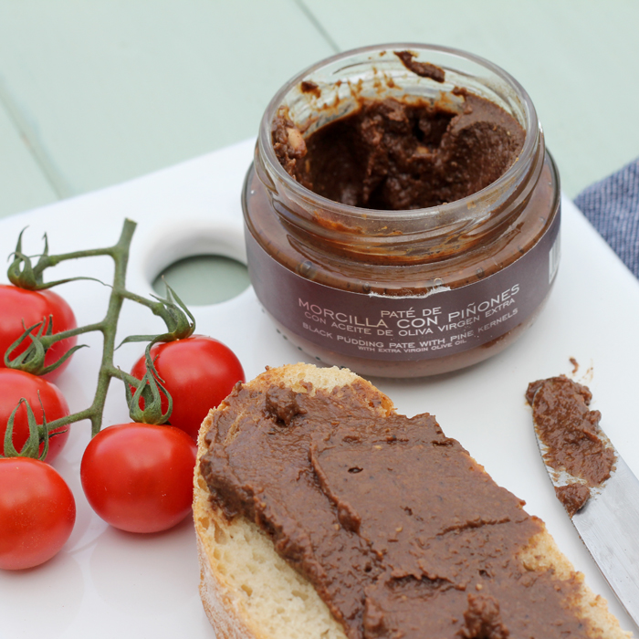 La Chinata Black Pudding Pate with Pine Kernels