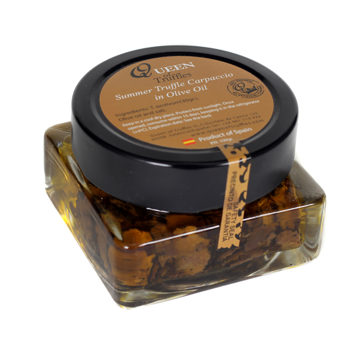 Queen of Truffles Truffle Slices in Olive Oil