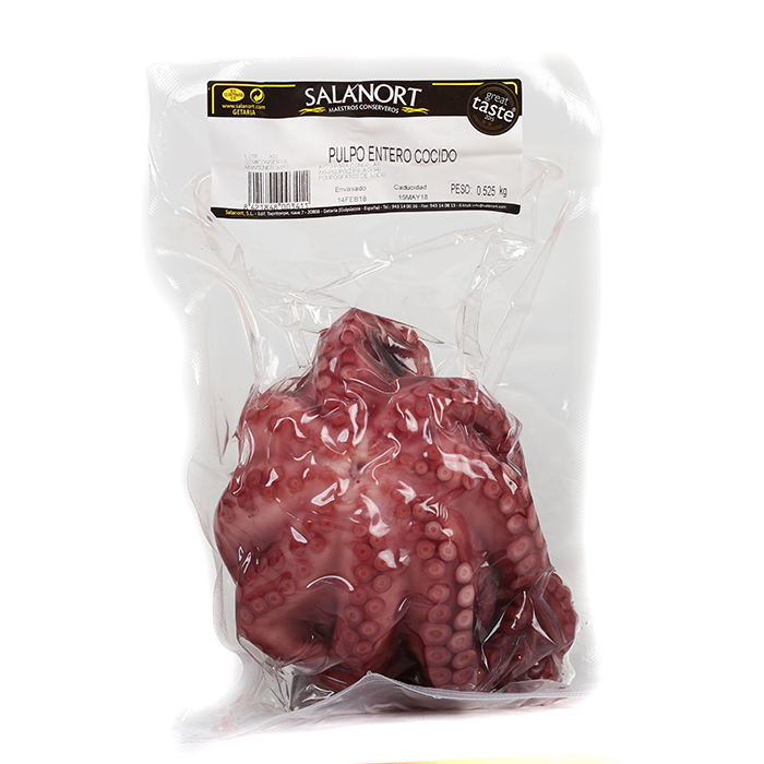 Salanort Whole Cooked Octopus 940g