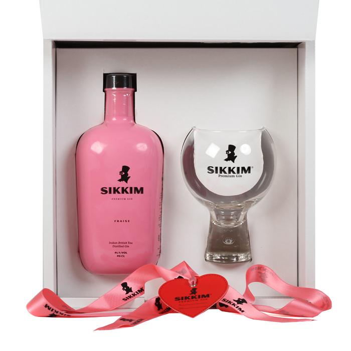 Gin Sikkim Fraise Box