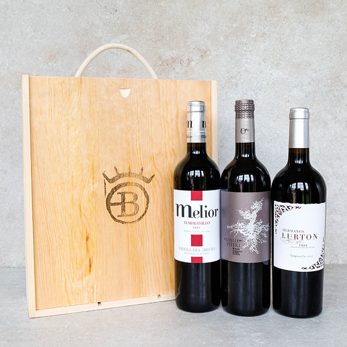 Spanish Red Wine Box
