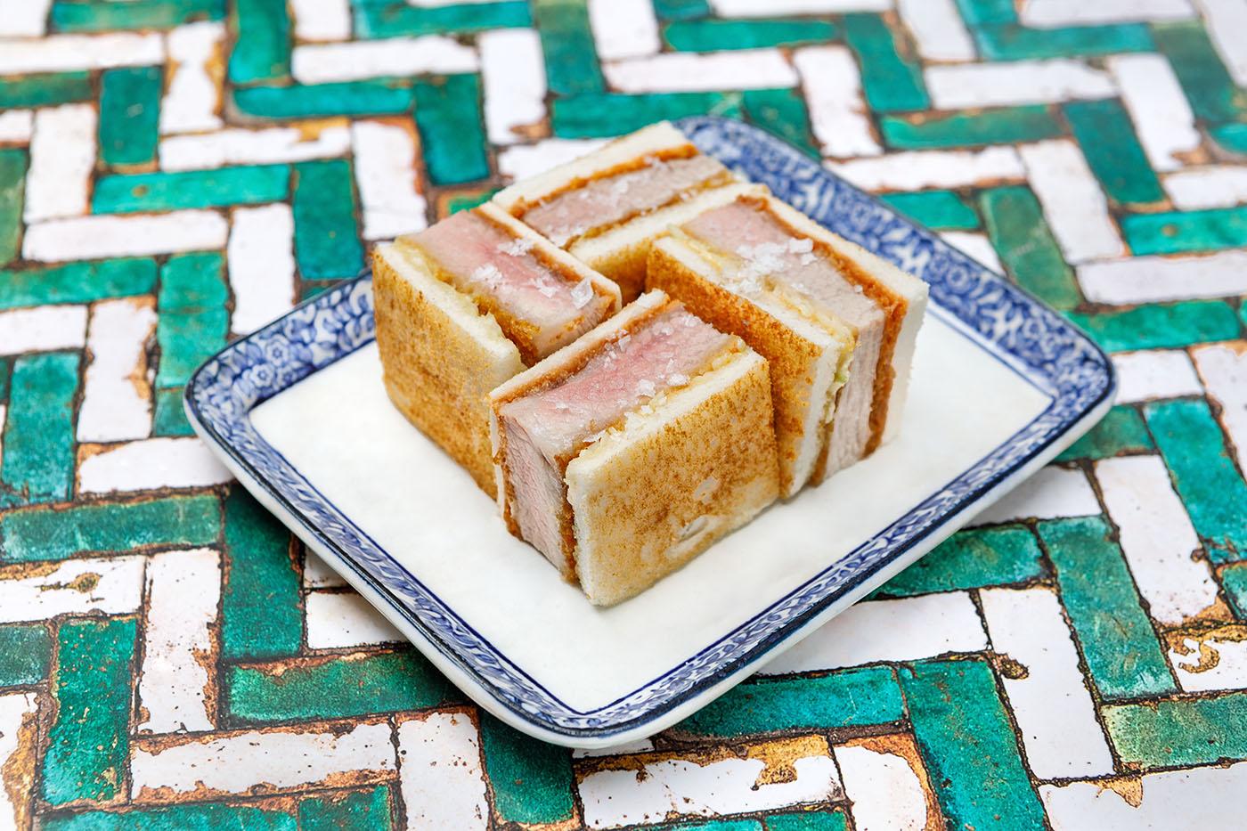 Ibérico Pork Katsu Sando