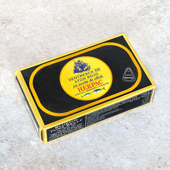 Herpac Bluefin Tuna Belly in Olive Oil