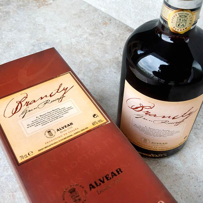 Brandy Alvear Gran Reserva